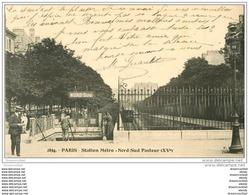 PARIS 15. Station Métropolitain Nord-Sud Pasteur - Arrondissement: 15