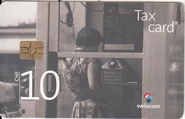 "SWITZERLAND - Phone Booth ""Typ 1939"" 1960(CHF 10), Chip GEM3.3, Exp.date 12/17, Used - Switzerland"