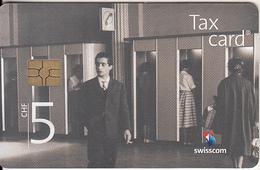 "SWITZERLAND - Phone Booth ""Bahnhof Bern"" 1960(CHF 5), Chip GEM3.3, Exp.date 12/17, Used - Zwitserland"