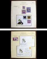 54207 Pologne Poland Suisse Hongrie Stationery Russie Russia Papillons Schmetterlinge Butterfly Butterflies Neufs ** MNH - Butterflies