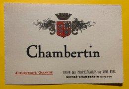 14427 - Chambertin - Bourgogne