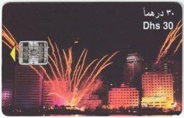 U.A.E. B-153 Chip Etisalat - Event, Festival, Firework - Used - United Arab Emirates