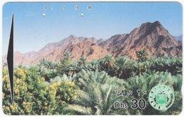 U.A.E. B-174 Optical Etisalat - Landscape, Oasis - Used - United Arab Emirates