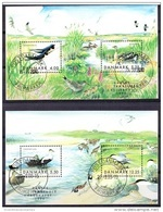 DENEMARKEN 1999 Blokken Trekvogels GB-USED - Dänemark