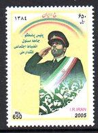 IRAN 2732 Policier , Drapeau - Police - Gendarmerie