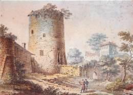 76 - Rouen - Tour Jeanne D'Arc - Le Donjon Du Château De Philippe Auguste En 1819, Avant Sa Restauration - D'après Une G - Rouen