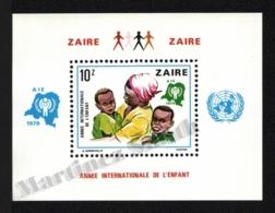 Zaire 1979 Yvert BF 10, Children. International Year Child, UN Logo - MNH - Zaïre
