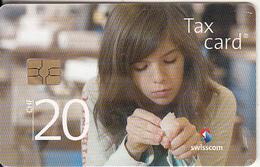 SWITZERLAND - Girl, Fur Unsere Zukunft(CHF 20), Chip GEM3.3, Tirage 60000, Exp.date 12/12, Used - Switzerland