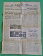 Macau - Jornal Notícias De Macau, Nº 5992, 27 Novembro De 1967 - Imprensa - Macao - China - Portugal - General Issues