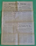 Macau - Jornal Notícias De Macau, Nº 5995, 30 Novembro De 1967 - Imprensa - Macao - China - Portugal - General Issues