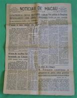 Macau - Jornal Notícias De Macau, Nº 5993, 28 Novembro De 1967 - Imprensa - Macao - China - Portugal - General Issues