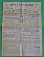 Macau - Jornal Notícias De Macau, Nº 5994, 29 Novembro De 1967 - Imprensa - Macao - China - Portugal - General Issues