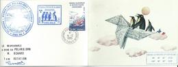 YT 121 Bateau Polabjorn - Carte De Voeux De Dumont D'Urville - Terre Adélie - 14/12/1986 - French Southern And Antarctic Territories (TAAF)