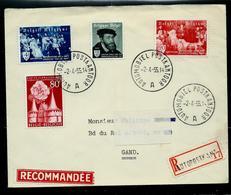 Doc.  De AUTOMOBIEL - POSTKANTOOR - A - Du 02/04/55  Avec N° 964/66 Et 961  En Rec. - Ambulants