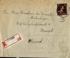Doc.  De AVERBODE 1945  En Rec. - 1936-1957 Offener Kragen