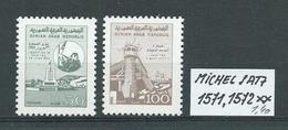 SYRIEN SATZ 1571,1572 Postfrisch Siehe Scan - Siria