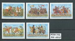 SYRIEN SATZ 1118 - 1122 Postfrisch Siehe Scan - Siria