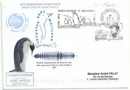 YT 557 Dr Rivolier - Secap De Dumont D'Urville - Terre Adélie - 21/03/2011 - Manchot Empereur - French Southern And Antarctic Territories (TAAF)