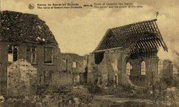 DIXMUDE- Ruines De Beerst. Ecole Et Chapelle Des Soeurs EERST WERELDOORLOG BELGIË BELGIQUE 1914/18 WWI WWICOLLECTION - Guerre 1914-18