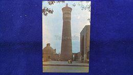 Bukhara The Kalyan Minaret Uzbekistan - Oezbekistan
