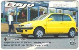 BULGARIA A-799 Chip Mobika - Traffic, Car, Honda - Used - Bulgarije