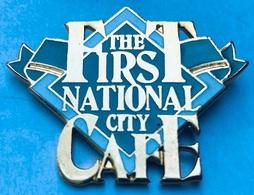 THE FIRST NATIONAL CITY CAFE - FOND VERT - GENEVE - GENEVA - SUISSE - SWITZERLAND - GENF - SCHWEIZ - GINEVRA - (25) - Altri