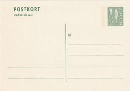 NORVEGE - ENTIER POSTAL - N° P148 (1973) Avec Carte Réponse Payée - Entiers Postaux