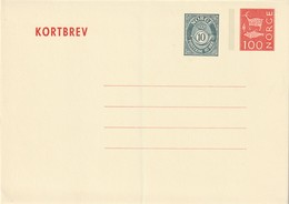 NORVEGE - ENTIER POSTAL - N° K38 (1974) - Entiers Postaux