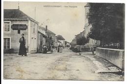 88-GREUX-DOMREMY-Rue Principale...  Animé  Hôtel MANGEOT - France
