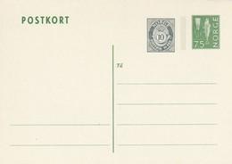 NORVEGE - ENTIER POSTAL - N°P140 (1974) - Entiers Postaux