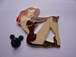 Big Pin S  Pin Up Jessica Signer Disney 5 X 4,5 Cm Neuf - Disney