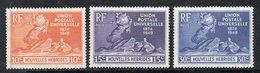 T1680 - NUOVE HEBRIDES 1949 , Tre Valori Yvert N. 136+137+138 *** MNH (2380A) - Ungebraucht