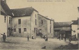 CPA BUXIERES LES FRONCLES  (HAUTE-MARNE) 52 - La Mairie - Ecole  - Animée - Autres Communes