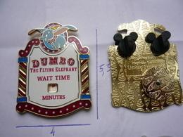Big Pin S Disney DUMBO LE300 Bouble Moule La Roue Tourne 5,5 X 4 Cm Neuf - Disney