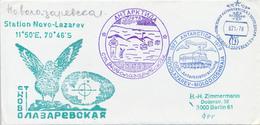 RUSSLAND / UdSSR -  ANTARKTIS / ANTARKTIDA  -  1978 ,  NOWOLASAREWSKAJA  Station   -  Brief - Non Classés