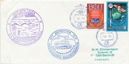 RUSSLAND / UdSSR -  ANTARKTIS / ANTARKTIDA  - 1978 ,  MOLODJOSHNAJA  Station  -  Geowissenschaftliche Forschung Der DDR - Non Classés