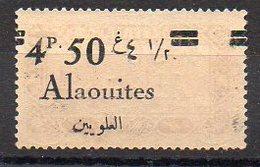 Alaouïtes N° 44h Neuf ** - Variété Surcharge Recto-Verso - Cote 40€ - Alaouites (1923-1930)