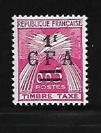 Réunion 1962/64 Yvert Taxe 45 Neuf** MNH (AA66) - Timbres-taxe