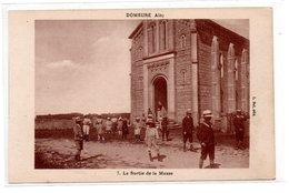 Domsure - 7 - La Sortie De La Messe -  CPA° - Autres Communes