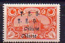 Cilicie N° 60b Neuf * - Variété Double Surcharge - Cote 12€ - Neufs