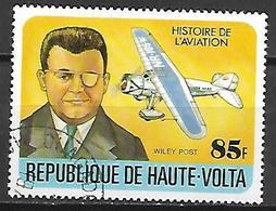 HAUTE VOLTA  -  1978  . Y&T N° 451 Oblitéré.  Wiley Post  /  Avion. - Alto Volta (1958-1984)