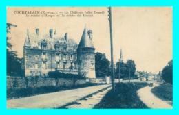 A785 / 415 28 - COURTALAIN Chateau Route D'Arrou - France