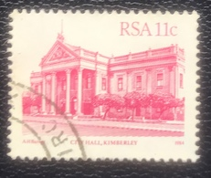 RSA  - Republic Of South Africa - (o) Used - Ref 13 - 1984 - Gebouwen - Afrique Du Sud (1961-...)