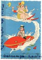 - 39 A - Décontracte Toi, Chéri On ..., Neuve, Illustrateur A. Dubout, 1959,  Signée, édit Du Moulin, TTBE. Scans. - Dubout