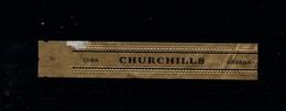 BAGUE De CIGARE De CUBA / HAVANE Marque CHURCHILLS / Taille7.7 Cm Et Hauteur 1.7 Cm - Bagues De Cigares