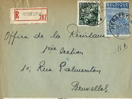 Doc. De HERBESTHAL  1950 En Rec. - Poststempel