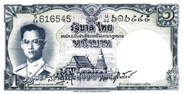 THAILAND  P. 74d 1 B 1955 UNC (s. 37) - Thailand