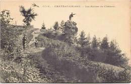 58 - CHATEAU-CHINON - Les Ruines Du Château - Chateau Chinon