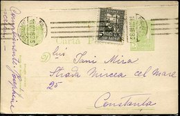 54884 Romania, Circuled Postcard 1916 As Scan - Postal Stationery