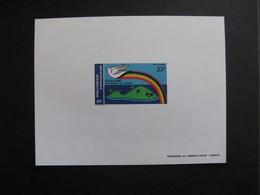 Polynésie: Epreuve De Luxe Du PA N°141. - Sin Dentar, Pruebas De Impresión Y Variedades